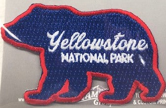YNP Grizzly Bear Patch