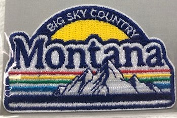 Montana Rainbow Mountains Patch