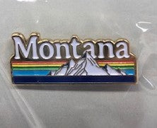 Montana Rainbow Mountains Pin