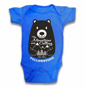Mountains Are Calling Infant Onsie