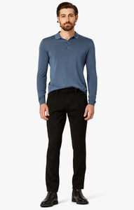 34 HERITAGE LUXURY PANT CHARCOAL - Caswell's Fine Menswear