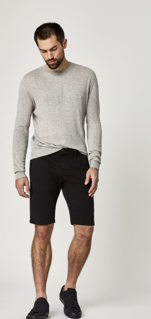 MAVI SHORT STRETCH BLACK