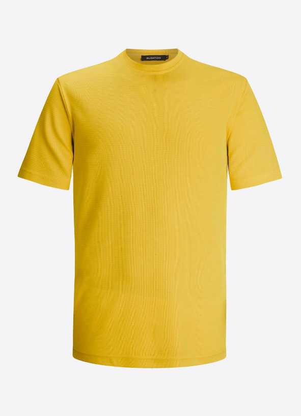 BUGATCHI SHORT SLEEVE T-SHIRT SUPER SOFT - Caswell's Fine Menswear
