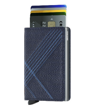 Load image into Gallery viewer, SECRID SLIMWALLET STITCH LINEA NAVY