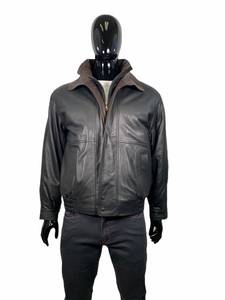 REGENCY BOMBER LEATHER JACKET