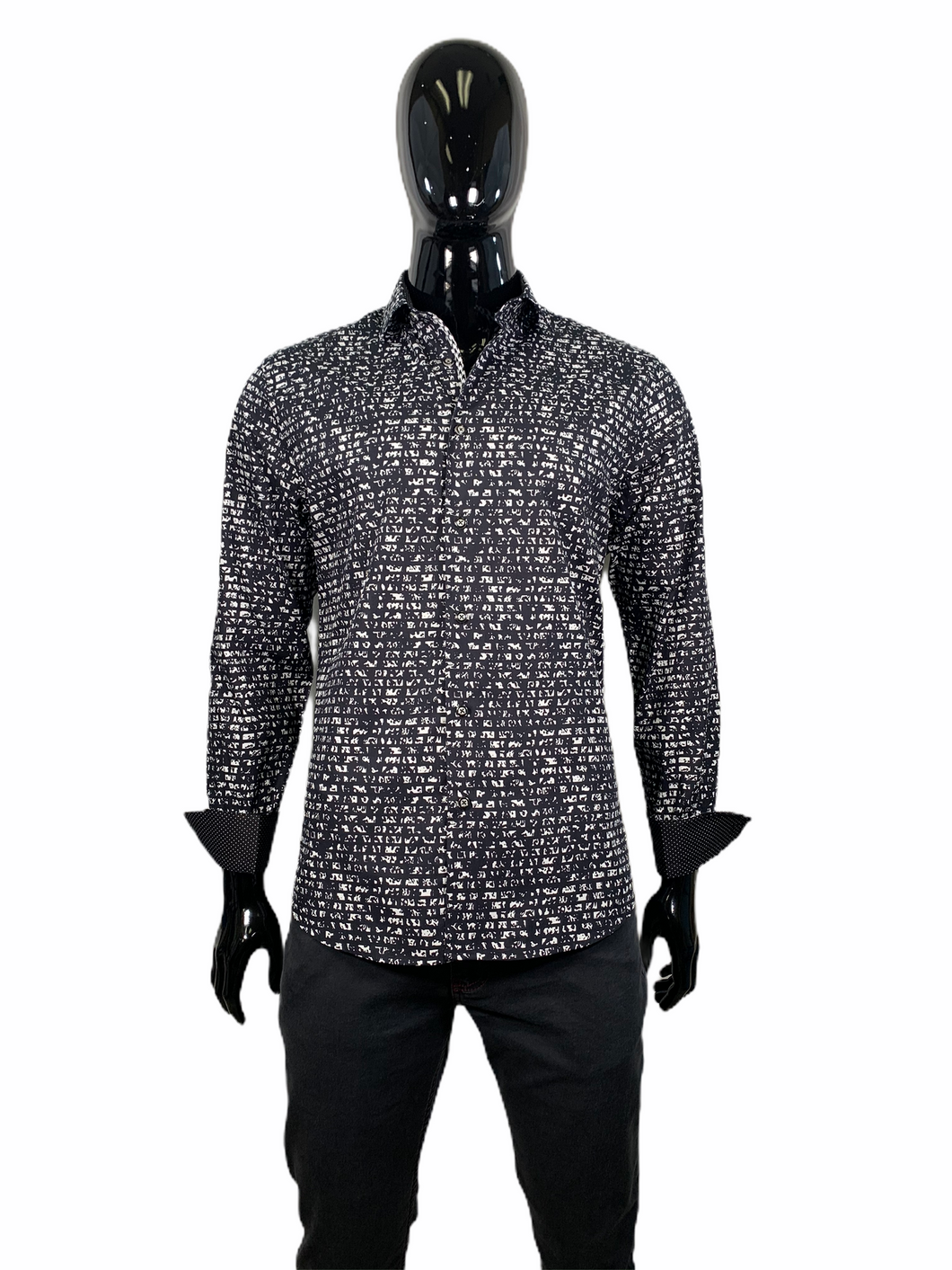 MICHEL MARTIN SHIRT LONG SLEEVE