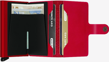 Load image into Gallery viewer, SECRID MINIWALLET ORIGINAL RED - Caswell's Fine Menswear