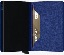 Load image into Gallery viewer, SECRID SLIMWALLET CRISPLE BLUE - Caswell's Fine Menswear