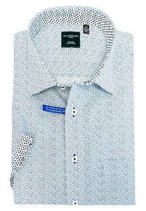 "LEO CHEVALIER ""CLASSIC FIT"" SHIRT SHORT SLEEVE - Caswell's Fine Menswear"