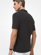 Load image into Gallery viewer, MICHAEL KORS POLO SHIRT SHORT SLEEVE BLACK