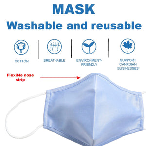 WASHABLE MASKS - 5 COLOURS - IN STOCK NOW - Caswell's Fine Menswear
