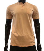Load image into Gallery viewer, HORST T SHIRT SHORT SLEEVE HENLEY - Caswell's Fine Menswear