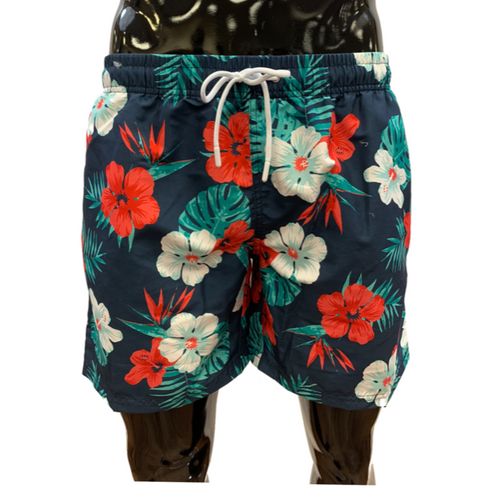 SOUL OF LONDON SWIM TRUNK FLORAL - Caswell's Fine Menswear