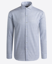 Load image into Gallery viewer, BUGATCHI SHIRT SHAPED FIT LONG SLEEVE CHALK - Caswell's Fine Menswear