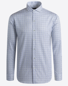 BUGATCHI SHIRT CLASSIC FIT LONG SLEEVE - Caswell's Fine Menswear