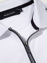 Load image into Gallery viewer, BUGATCHI SLEVE ZIP POLO