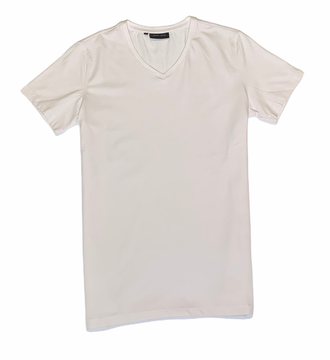 CASUAL FRIDAY T SHIRT V NECK - Caswell's Fine Menswear
