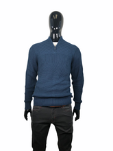 Load image into Gallery viewer, SOUL OF LONDON SWEATER 1/4 ZIP - Caswell's Fine Menswear