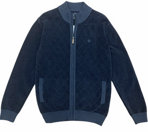 FELLOWS UNITED SWEATER FULL ZIP - Caswell's Fine Menswear