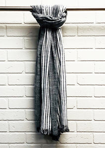 LIGHT SCARF BLACK - Caswell's Fine Menswear