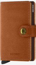 Load image into Gallery viewer, SECRID MINIWALLET ORIGINAL COGNAC BROWN - Caswell's Fine Menswear