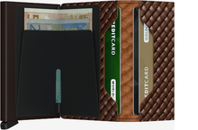 Load image into Gallery viewer, SECRID SLIMWALLET BASKET BROWN - Caswell's Fine Menswear