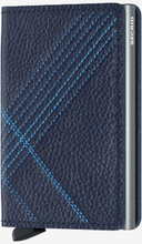 Load image into Gallery viewer, SECRID SLIMWALLET STITCH LINEA NAVY - Caswell's Fine Menswear