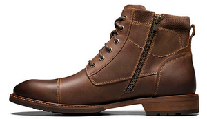 FLORSHEIM BOOT WITH SIDE ZIPPER