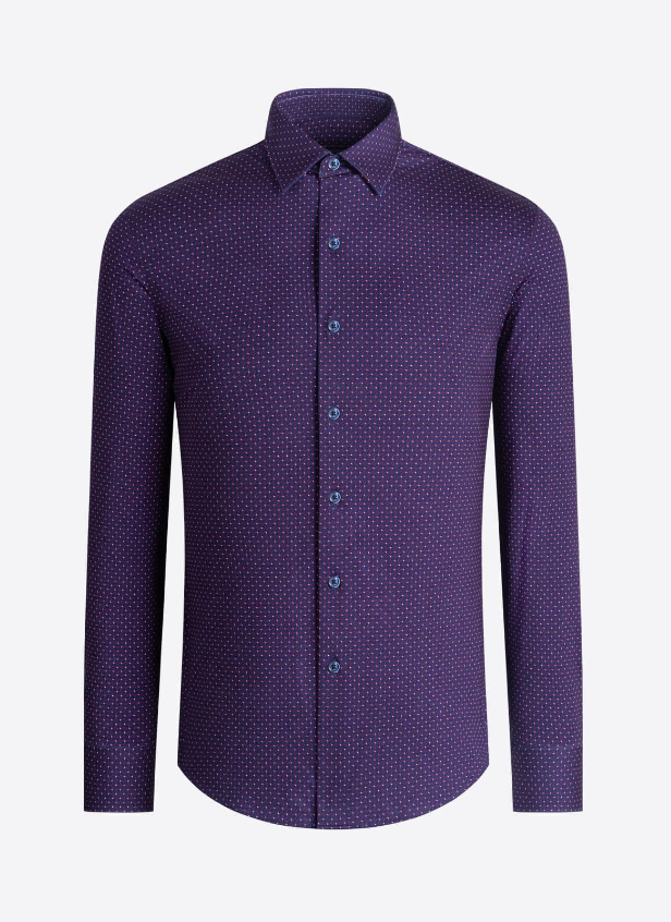 BUGATCHI SHIRT OOOH COTTON TECH