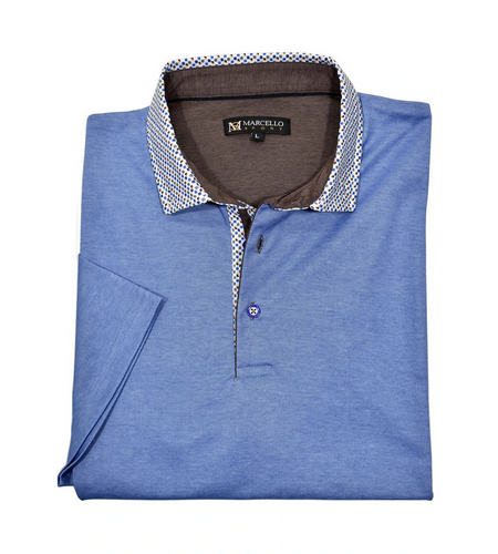 MARCELLO POLO SHIRT S SLEEVE - Caswell's Fine Menswear