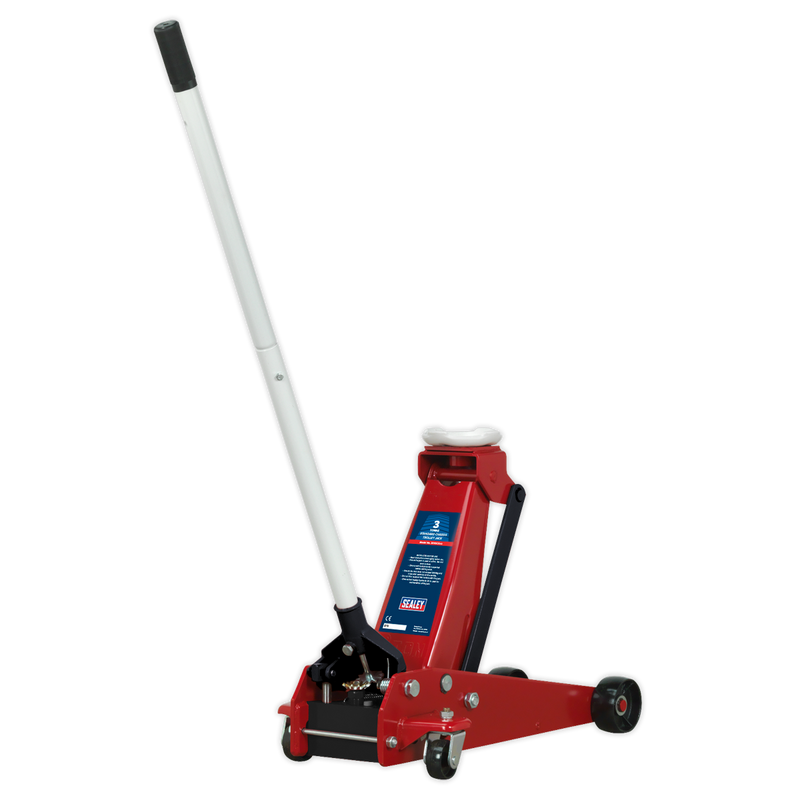 Trolley Jack 3tonne Standard Chassis with Axle Stands (Pair) 3tonne Capacity per Stand