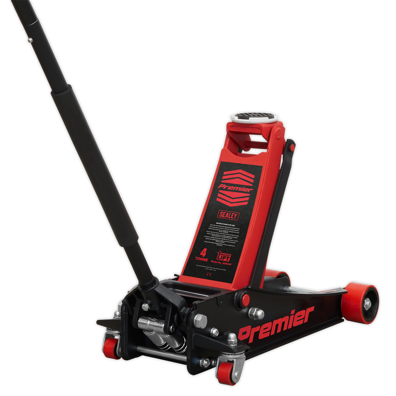 Trolley Jack 4tonne Rocket Lift Red