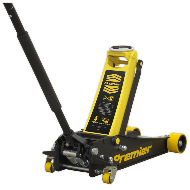 Trolley Jack 4tonne Rocket Lift Yellow