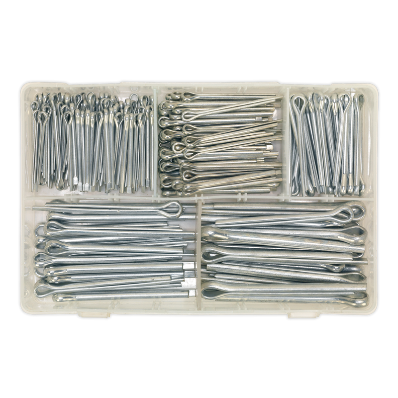 Split Pin Assortment 230pc Large Sizes Imperial & Metric