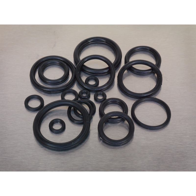 Rubber O-Ring Assortment 225pc Metric