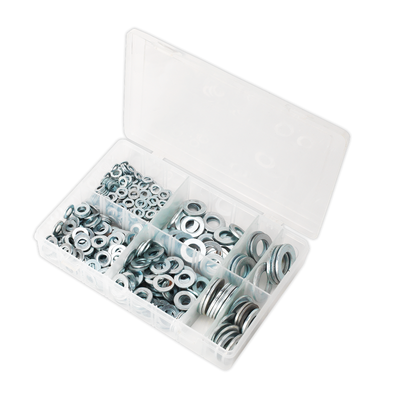 Flat Washer Assortment 495pc M6-M24 Form C Metric BS 4320