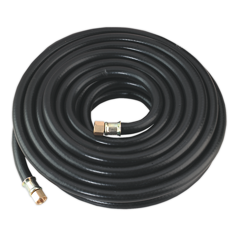"Air Hose 10m x Ø8mm with 1/4""BSP Unions Heavy-Duty"