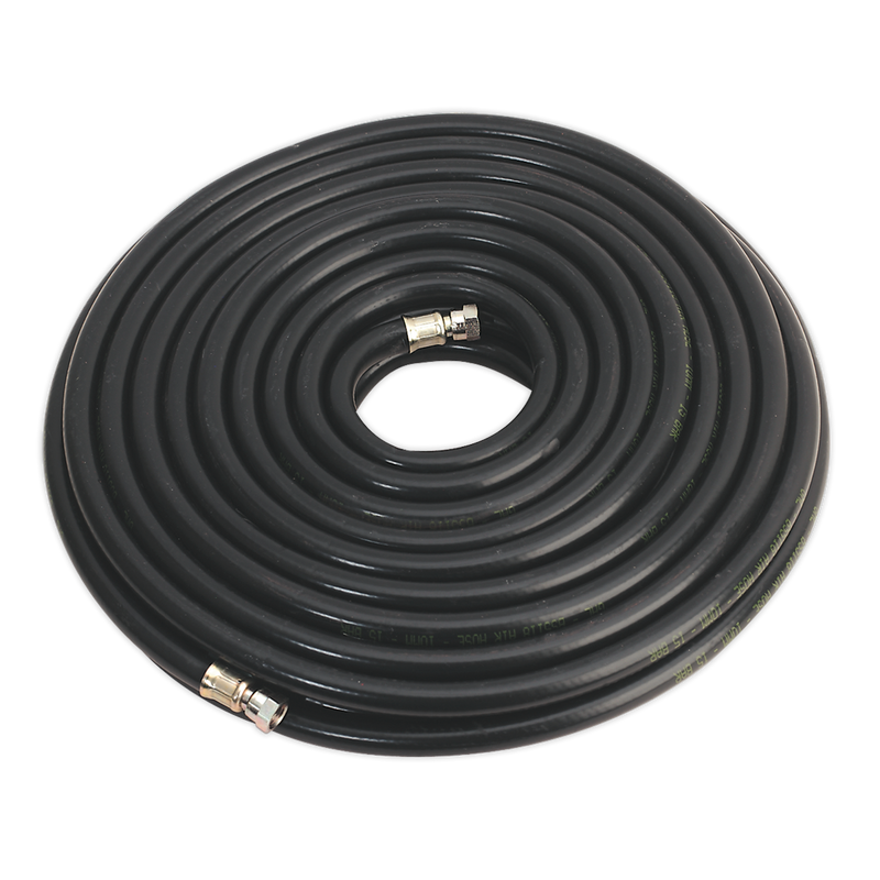 "Air Hose 20m x Ø10mm with 1/4""BSP Unions Heavy-Duty"