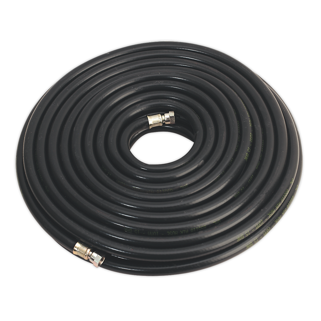 "Air Hose 30m x Ø10mm with 1/4""BSP Unions Heavy-Duty"