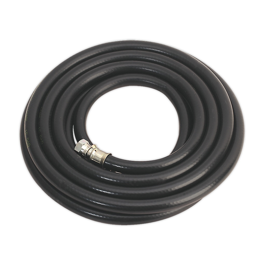 "Air Hose 5m x Ø10mm with 1/4""BSP Unions Heavy-Duty"