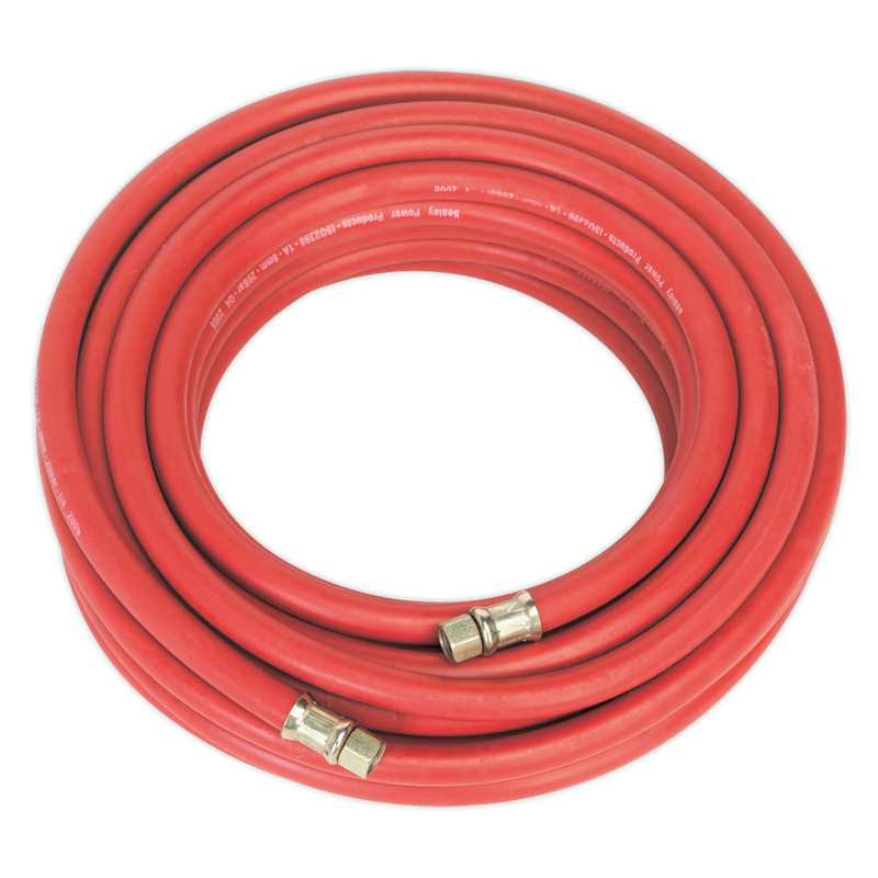 "Air Hose 15m x Ø8mm with 1/4""BSP Unions"