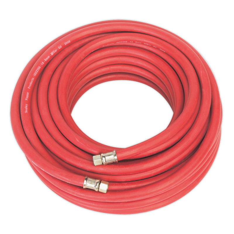 "Air Hose 20m x Ø8mm with 1/4""BSP Unions"