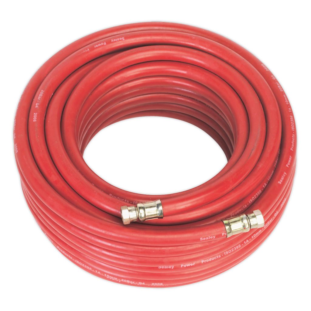 "Air Hose 20m x Ø10mm with 1/4""BSP Unions"