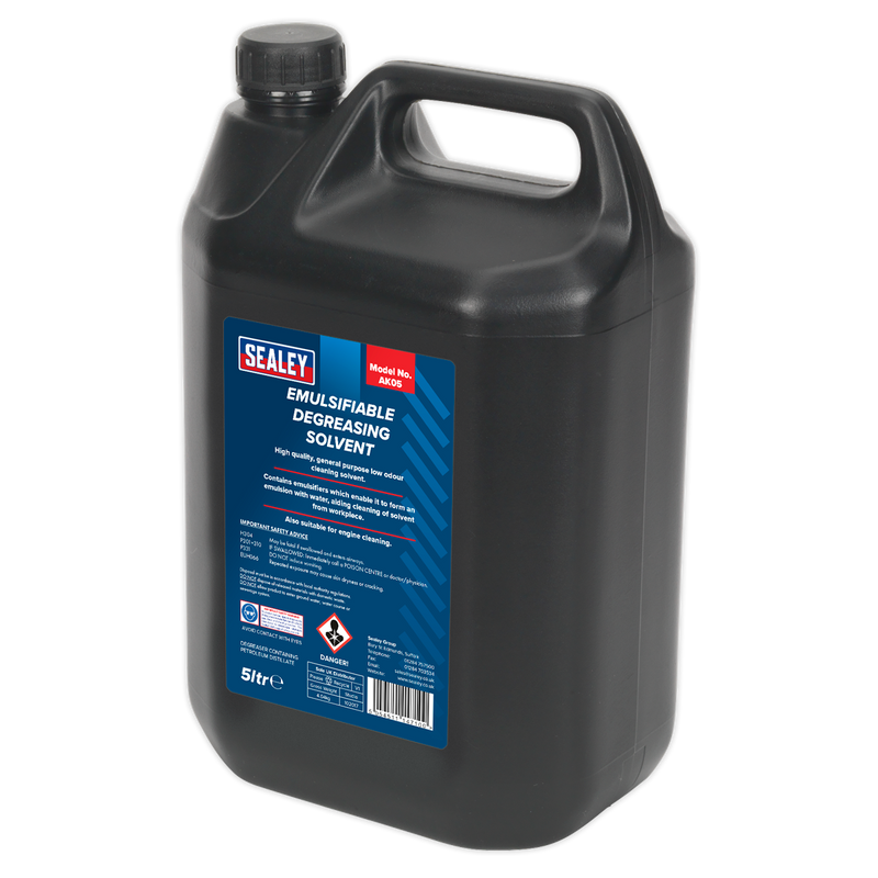 Degreasing Solvent Emulsifiable 5L