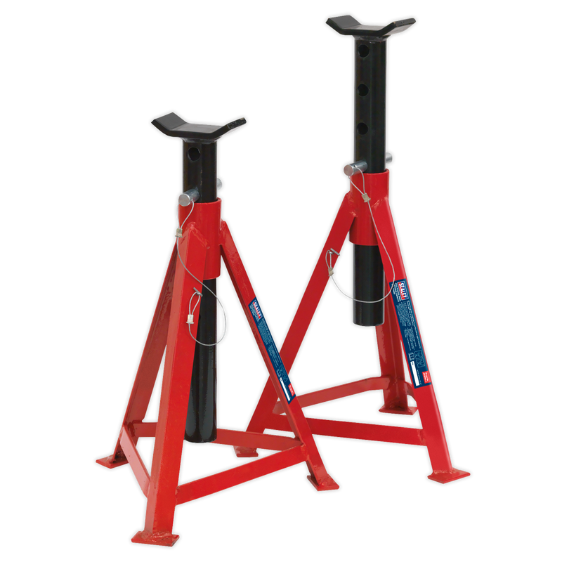 Axle Stands (Pair) 2.5tonne Capacity per Stand Medium Height