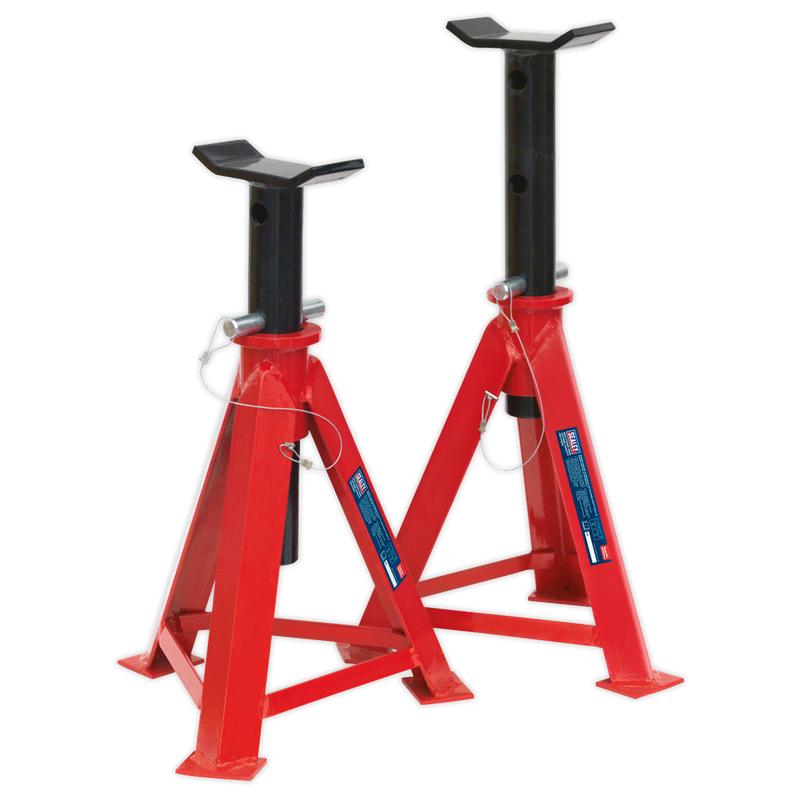 Axle Stands (Pair) 7.5tonne Capacity per Stand