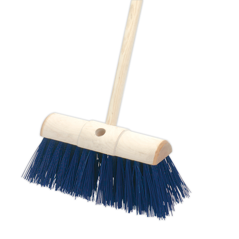 "Yard Broom 13""(325mm) Stiff/Hard Bristle"