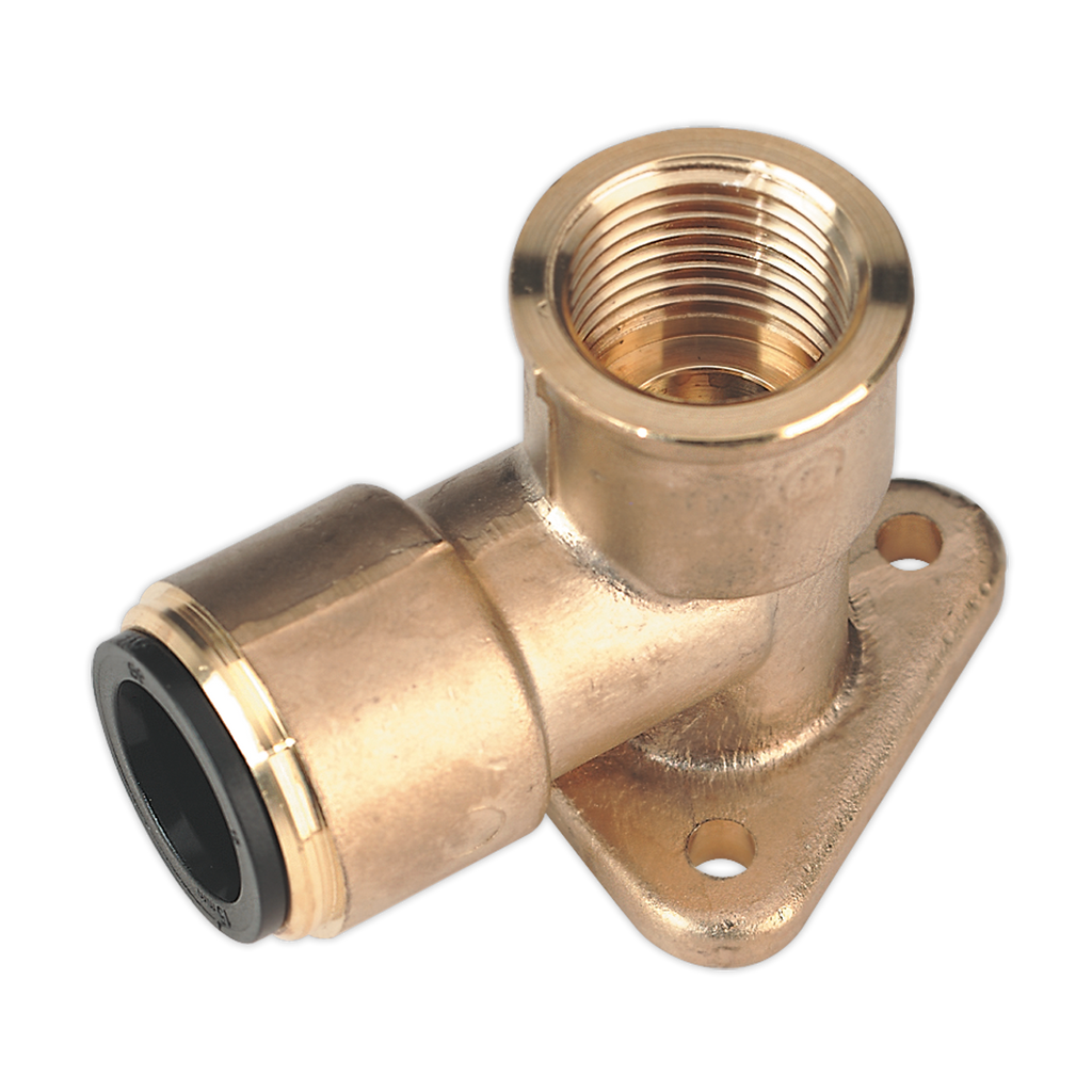 "Wingback Elbow 15mm x 1/2""BSP Brass (John Guest Speedfit® - PM15WB)"