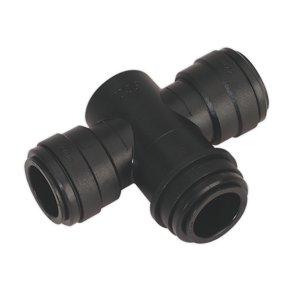 Equal Water Trap Tee 22mm (John Guest Speedfit® - PMTT22E)