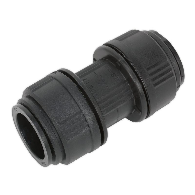 Straight Connector Ø28mm Pack of 5 (John Guest Speedfit® - PM0428E)